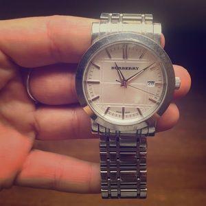 Burberry Stainless Steel Quartz Watch